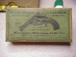1900's 32 & WCF Winchester Reapting Arm's Ammo Box