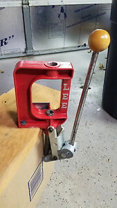Lee Precision Challenger Press (Red)