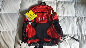 Under Armour UA Striker II Backpack Bag - Red NEW With Tags! Scarlet