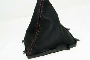 Manual Shift Boot Cover Leather Synthetic for Pontiac GTO 2004 2006 Red Stitch $25.99