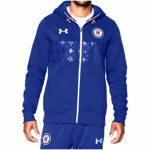 Under Armour Cruz Azul Royal Supporters Full-Zip Performance Hoodie