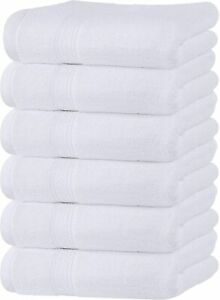 Hand Towels Large 16 x 28 Inches Cotton 600 GSM Wholesale Lot Utopia Towels