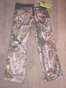 NWT Under Armour Women's Scent Control Pants Realtree Early Season Speed Freek 6