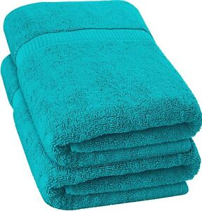 Extra Large Bath Sheet Towel Soft Absorbent Cotton 35 x 70 Inches Utopia Towels