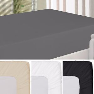Fitted Sheet Brushed Ultra Comfortable Luxury Soft Microfiber Utopia Bedding