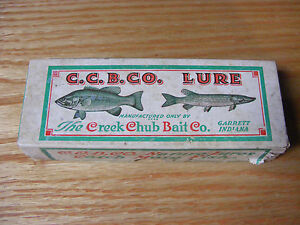 Creek Chub Deep Diver Empty Lure Box Number 2630DD