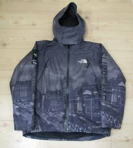 SUPREME x THE NORTH FACE Summit Series Mountain 2ND Black Grey Box Logo Jacket M