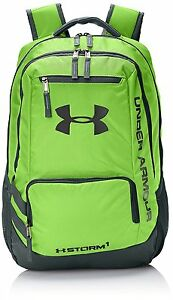 Under Armour Hustle II Backpack Hyper Green One Size