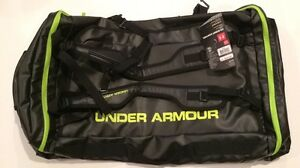 Under Armour Scent Control Water Resistant Backpack Duffle 30x18x14