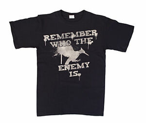 The Hunger Games 2: Catching Fire Remember Who The Enemy Is Mens Black T-Shirt