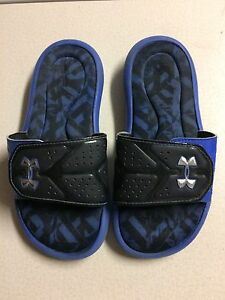under armour Slide On Shoes Size 1y Boys