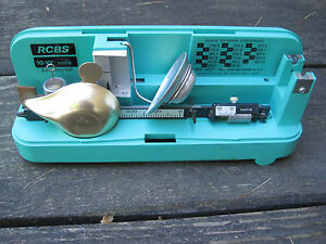 Vintage RCBS Ohaus 10-10 Precision Reloding Scale