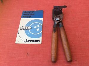 LYMAN mould #446110 SINGLE CAVITY BULLET MOULDMOLD BLOCK RELOADING EQUIPMENT