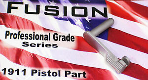1911 Stainless Slide Stop 9mm Brushed Polished - by Fusion Firearms