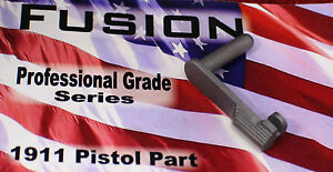 1911 Stainless Slide Stop 9mm MATTE Finish - by Fusion Firearms