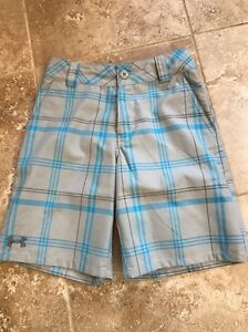 Youth Under Armour Golf Shorts YSM Small