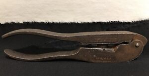 Winchester 25-20 Cal WCF Reloading Tool PAT 1874 Bullet Mold Pliers MODIFIED