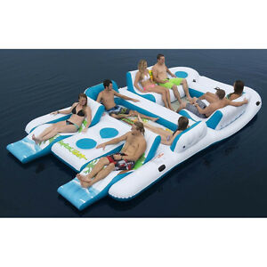 Party Raft 8 person party raft for lake river or ocean