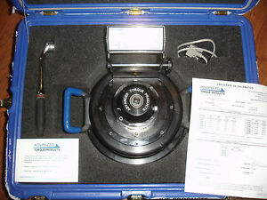 CALIBRATED   ATP8000 Foot Pound Advanced Torque Products Torque Multiplier CASE
