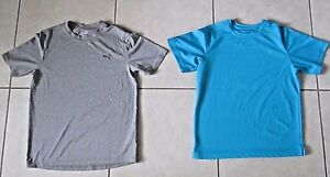 Lot of 2 Youth Boys L Shirts Reel Legends Puma Dry Fit UV Protection Quick Dry
