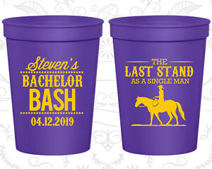 Bachelor Party Cups Cup Favors (40050) Country, The Last Stand As A Single Man