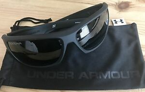 Under Armour Rumble - Satin Black Frame  Gray Storm Polarized Lens - New In Box
