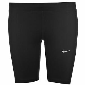 Nike Essential 8 Inch Running Shorts Womens Black Sports Exercise Fitness Short