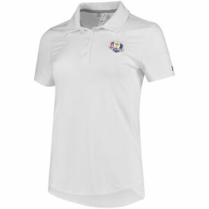 Under Armour Women's White 2018 Ryder Cup Leader Polo - Golf