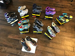 Nike Kobe Prelude Pack & Adidas Vino Pack Size 13. Complete Sets (13 pairs)