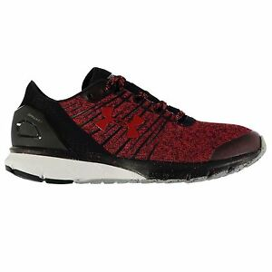 Under Armour Charged Bandit 2 Running Shoes Mens RedBlk Sport Trainers Sneakers