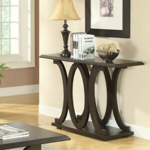 Coaster C Shaped Console Table in Cappuccino $140.21