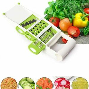 5PCS Super Plus Vegetable Fruit Peeler Dicer Cutter Chopper Nicer Grater