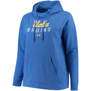 Under Armour UCLA Bruins Women's Royal Sport Style Tri-Blend Pullover Hoodie