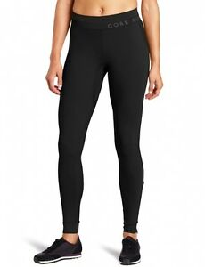 (Size 44 Black) - Gore Running Wear Women's Air Long Tights. Delivery is Free