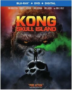 Kong: Skull Island New Blu ray With DVD UV HD Digital Copy 2 Pack $9.83