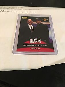 2017 Panini Lonzo Ball Rookie Card. Brand New 1 of 1251 sold a steal of a deal!