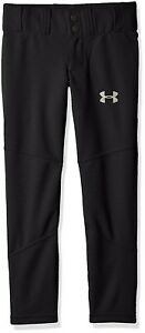 (Youth X-Large Black (001)) - Under Armour Boys' Lead Off Baseball Pants. Shipp