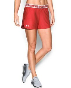(X-Large Pomegranate) - Under Armour Women's Play up 20 Short. Shipping Include
