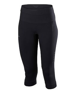 (X-Large Black) - Falke Women's 34 Running Tights Light Women's Sports Trouser