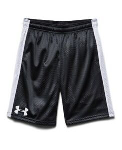 (X-Small BlackWhite) - Under Armour Big Boys' UA Dominate Shorts. Shipping is