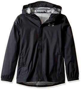 (X-Large Black) - Under Armour Boys' Storm Bora Jacket. Shipping is Free