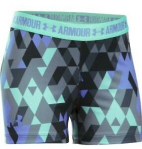 New Under Armour Girl's Printed 3