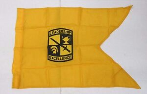 Genuine US Army Military Senior ROTC Reserve Officer Training Corps Guidon Flag