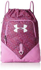 (One Size Verve VioletBlack Cherry) - Under Armour Undeniable Sackpack. Brand