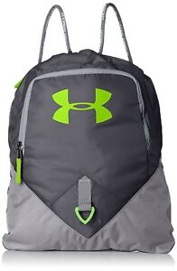 (One Size Stealth GraySteel) - Under Armour Undeniable Sackpack. Delivery is F