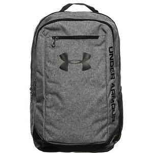 (20 x 10 x 2 cm Grey) - Under Armour Men's Hustle Ldwr Backpack. Free Shipping