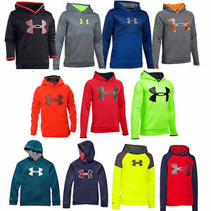 Under Armour Youth Boys Hoodie Storm Sweatshirt - Youth S M L XL - New w Tags