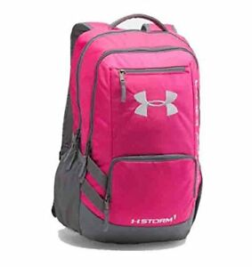 Under Armour Hustle II Storm Laptop Backpack (One Size Tropical Pink)
