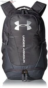 Under Armour UA Hustle 3.0 Backpack Graphite School New