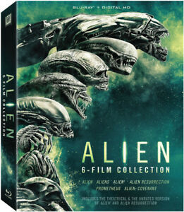 Alien Alien: 6 Film Collection New Blu ray Boxed Set Digitally Ma $29.47